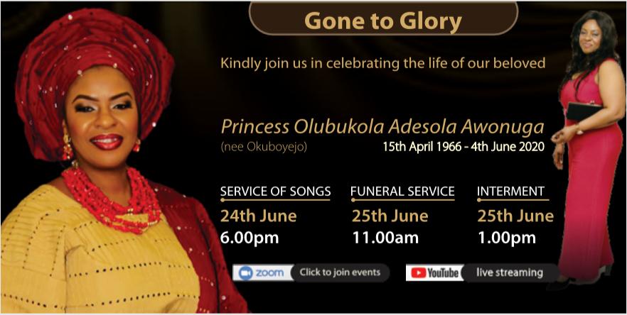 Aunty Bukky Awonuga Poster